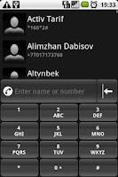Screenshot of aContacts
