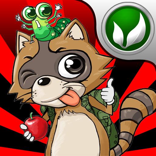 Daring Raccoon HD 休閒 LOGO-阿達玩APP