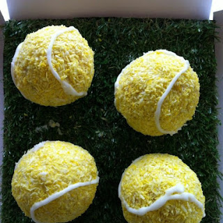 Tennis Ball Lamingtons
