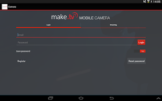 Screenshot of make.tv Camera