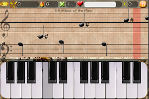 Screenshot of Attack of the piano