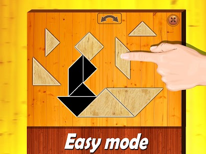 Wooden shape puzzle for kids - screenshot