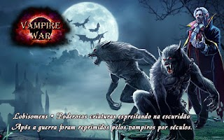 Screenshot of Vampire War - Português