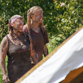 Mud Run by Tammy Drombolis - People Street & Candids (  )