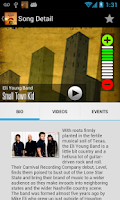 Screenshot of 105.3 Rebel