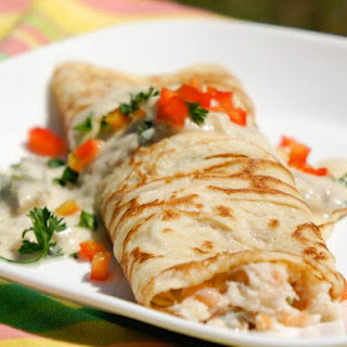 Seafood Crepes White Sauce Recipes