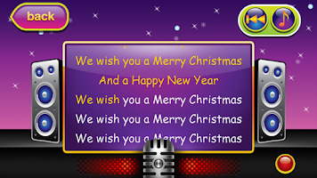 Screenshot of Karaoke for Kids Xmas Carols 2