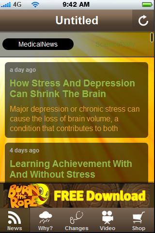 Stress -Anxiety -Depression.