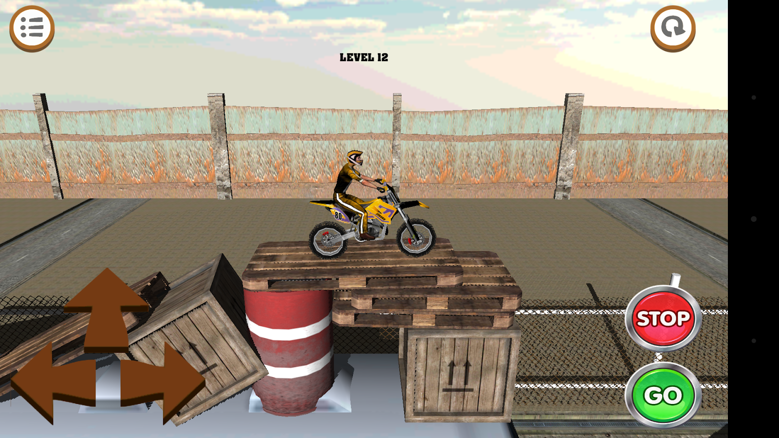 3D Motocross Bike: Industrial Screenshot 5