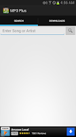 Screenshot of MP3 Plus - MP3 Downloader