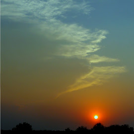 Approach by Vince Scaglione - Landscapes Weather ( clouds, sky, sunset, south, weather, approach, landscape, evening, dusk,  )