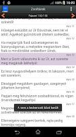 Screenshot of Biblia Magyarul