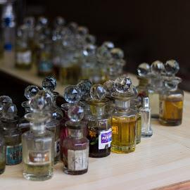 Wonderful world of Smells by Avanish Dureha - Artistic Objects Other Objects ( market, pushkar, sunset, rajasthan, dureha@gmail.com, camels, perfumes, india, bazaar, avanish dureha )