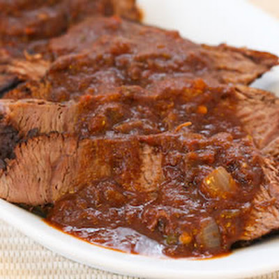 Southwestern Pot Roast Cooked in the CrockPot