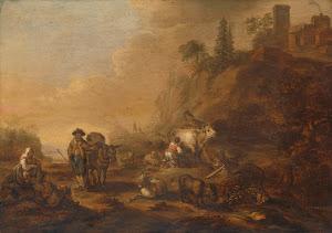 RIJKS: Cornelis de Bie: painting 1648