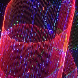 Pipe of light ! by Jim Barton - Abstract Patterns ( laser light, colorful, light design, laser design, laser, laser light show, light, pipe, science )