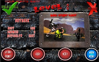 Screenshot of Race Stunt Fight! Motorcycles