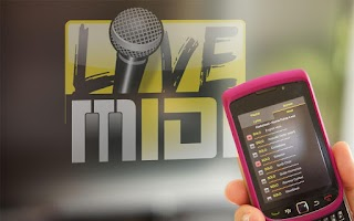 Screenshot of Karaoke Live MIDI Player