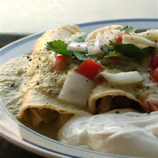 Authentic Enchiladas Verdes