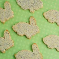 Lemon Poppy Seed Bunny Cookies