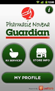 Pharmacie Novena - screenshot