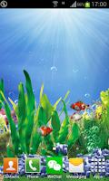 Screenshot of 3D Goldfish Live Wallpaper