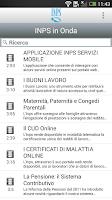 Screenshot of Ufficio Stampa INPS