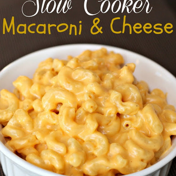 Slow Cooker Creamy Macaroni and Cheese Recipe | Yummly