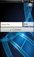 Screenshot of convert video to mp3
