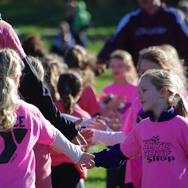 Good Game by Deanna Lawrence - Babies & Children Children Candids ( 6-8 yrs old, girls, sports, team, soccer,  )