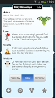 Screenshot of Daily Horoscope Pro
