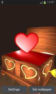 Valentines Music Box - screenshot