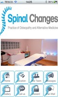 Screenshot of Spinal Changes Osteopath