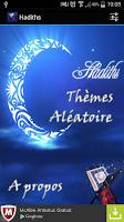 Screenshot of Hadiths