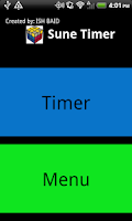 Screenshot of Sune Timer
