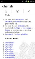 Screenshot of Hawksword Dictionary