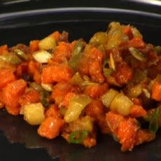 Sweet Potato, Bacon and Apple Hash