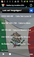 Screenshot of Free Mexican Radio Stations