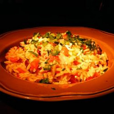 Greek Orzo with Feta