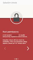 Screenshot of GalaxSim Unlock