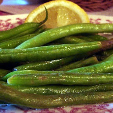 Lemon String Beans