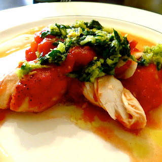 Fennel Baked Fish Topped With Parsley Gremolata