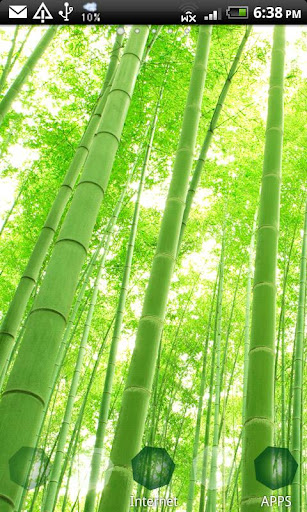 ArteLauncherTheme Green bamboo