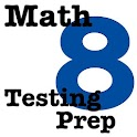 8th Grade Math Testing Prep icon