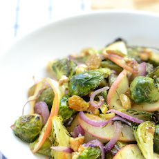 Brussels Sprout & Apple Salad