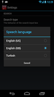 Screenshot of Offline English Turkish Dict.