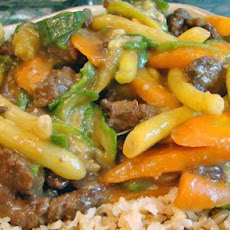 Stir-Fry Beef With String/Green Beans