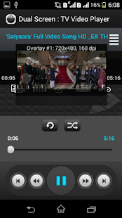 Dual Screen : TV MP4 Player - screenshot