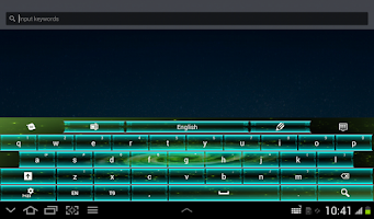 Screenshot of Galaxy Keyboard