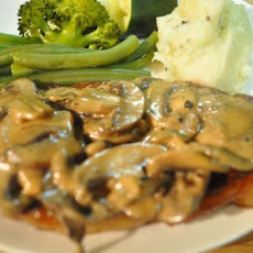 Steaks in Mushroom Cream Sauce